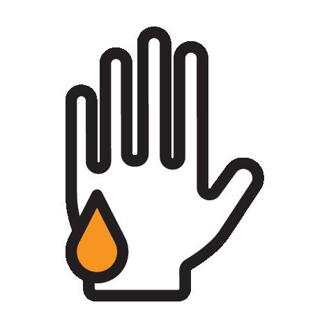 3. ขณะใช้นอร์ก้า โฟมควรสวมถุงมือยาง และภายหลังการใช้หรือการหยิบจับ ควรล้างถุงมือยางและมือด้วยน้ำและสบู่ทุกครั้ง